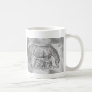 Mother and Foal Coffee Mugs