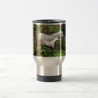 Mother and foal Unicorn Travel Mug