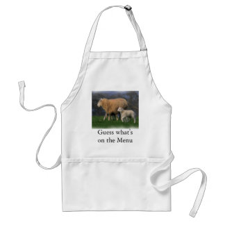 Mother and Lamb Adult Apron