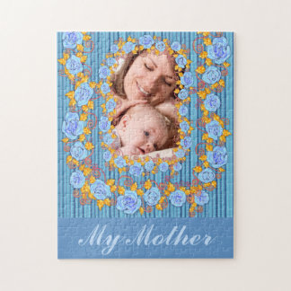 Mother and me memories photo puzzle
