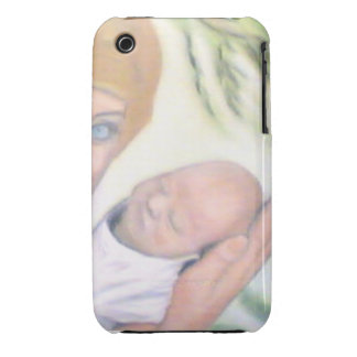Mother and Newborn iPhone 3 Covers