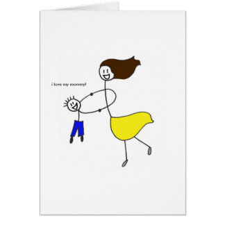 Mother and Son Cards