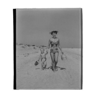 Mother and Son iPad Folio Case