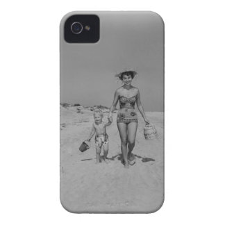 Mother and Son iPhone 4 Cases