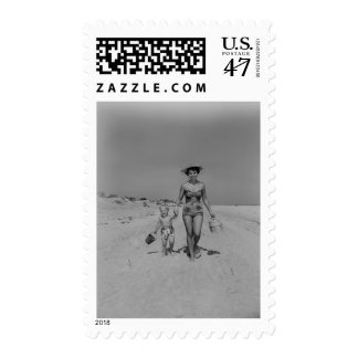 Mother and Son Postage