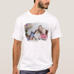 Mother and son sitting on sofa together T-Shirt