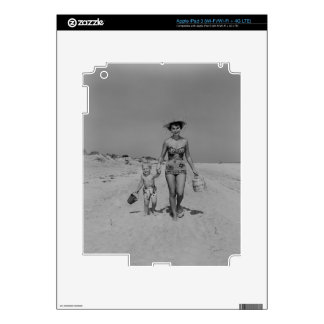 Mother and Son Skins For iPad 3