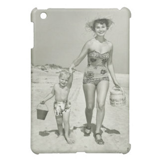 Mother and Son Walking Case For The iPad Mini