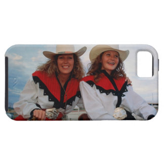 Mother and teenage daughter (14-16) at rodeo, iPhone SE/5/5s case