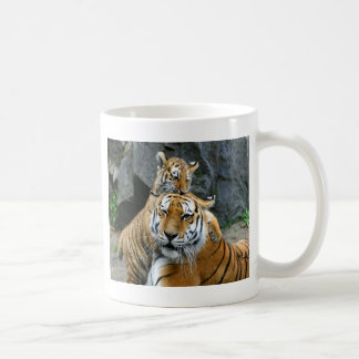 Mother and unconditional love Tigers Coffee Mug