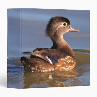 Mother and Wood Ducklings Vinyl Binder