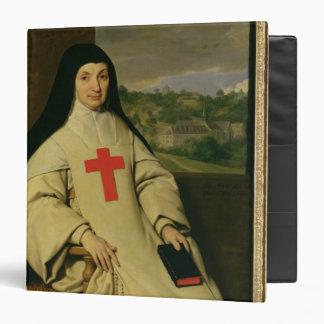 Mother Angelique Arnauld  Abbess 3 Ring Binder