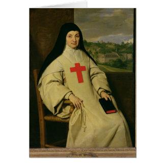 Mother Angelique Arnauld  Abbess Card