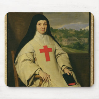 Mother Angelique Arnauld  Abbess Mouse Pad