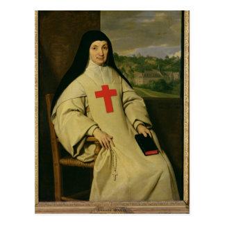 Mother Angelique Arnauld  Abbess Postcard