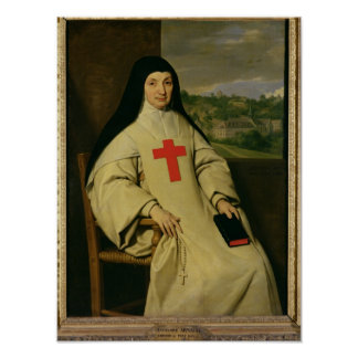 Mother Angelique Arnauld  Abbess Poster