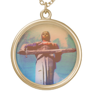 Mother Armenia Gold Plated Necklace