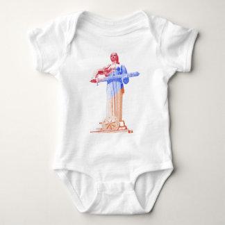 Mother Armenia, Proud Armenian Women (in English) Baby Bodysuit