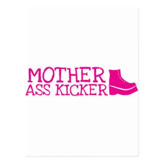 Mother as* Kicker Postcard
