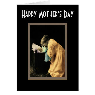Mother & Babe Card