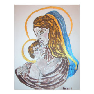 Mother & Baby Custom Flyer