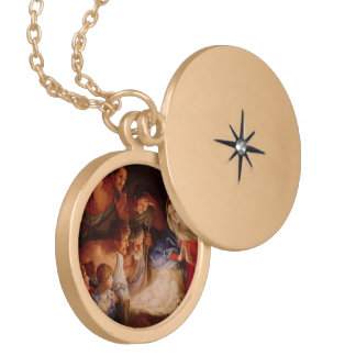 Mother & Baby Jesus Necklace