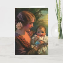 Mother & Baby Mother's Day Card