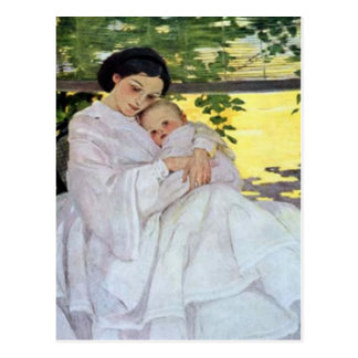 Mother & Baby Mother's Day Card Post Cards