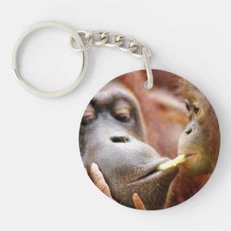 Mother & Baby Orangutan Keychain