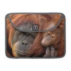Mother & Baby Orangutan MacBook Pro Sleeve