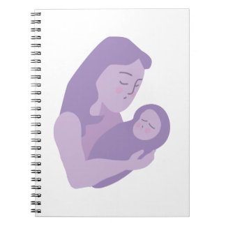 Mother Baby Spiral Notebook