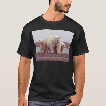 Beach Themed Mother Bear T-Shirt