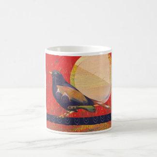 Mother bird mug