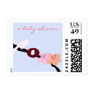 Mother Bird with Her Eggs 2 Postage