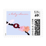 Mother Bird with Her Eggs 2 Postage Stamp
