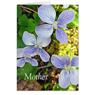 Mother Blank Greeting Card