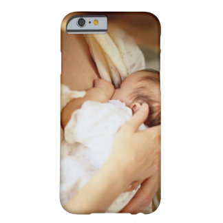 Mother breastfeeding baby girl (1-3 months) barely there iPhone 6 case