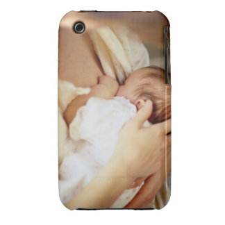 Mother breastfeeding baby girl (1-3 months) iPhone 3 cover