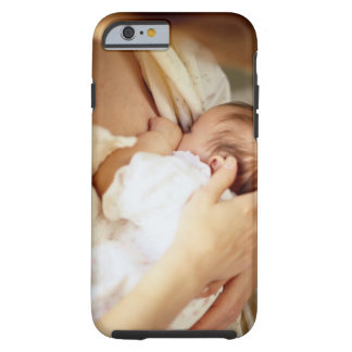 Mother breastfeeding baby girl (1-3 months) tough iPhone 6 case