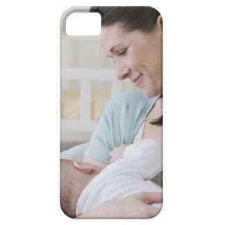 Mother breastfeeding baby iPhone SE/5/5s case