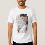 Mother breastfeeding baby tshirt
