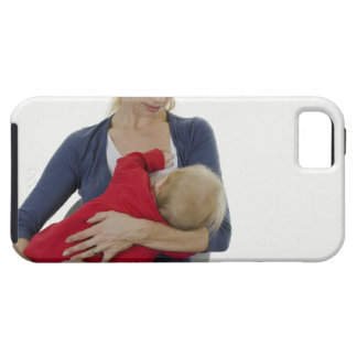 Mother breastfeeding her baby. iPhone SE/5/5s case
