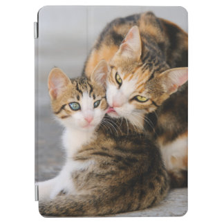 Mother Cat Loves Cute Kitten Gadget-Cover iPad Air Cover