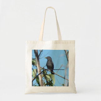 Mother Catbird Gathers Berries to her Feed Babies Tote Bag