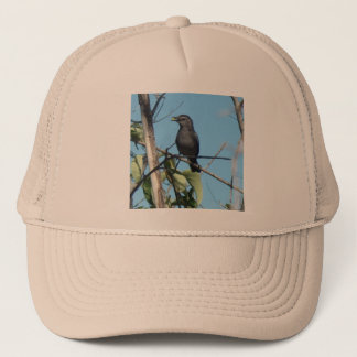 Mother Catbird Gathers Berries to her Feed Babies Trucker Hat