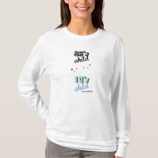 Mother & Child Decades - Baby In Progress 80s 10s T-Shirt