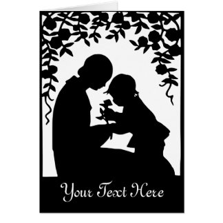Mother & Child Notecard