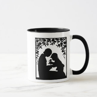 Mother & Child Silhouette Mug