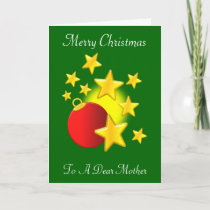Mother Christmas Holiday Card