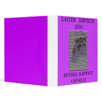 Mother Church, BETHEL BAPTIST CHURCH, EASTER   ... 3 Ring Binder